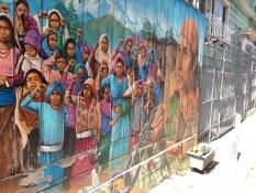 Peinture murale lors de la visite privée de San Francisco avec www.frenchescapade.com
