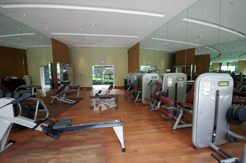 fitness centre capella singapore