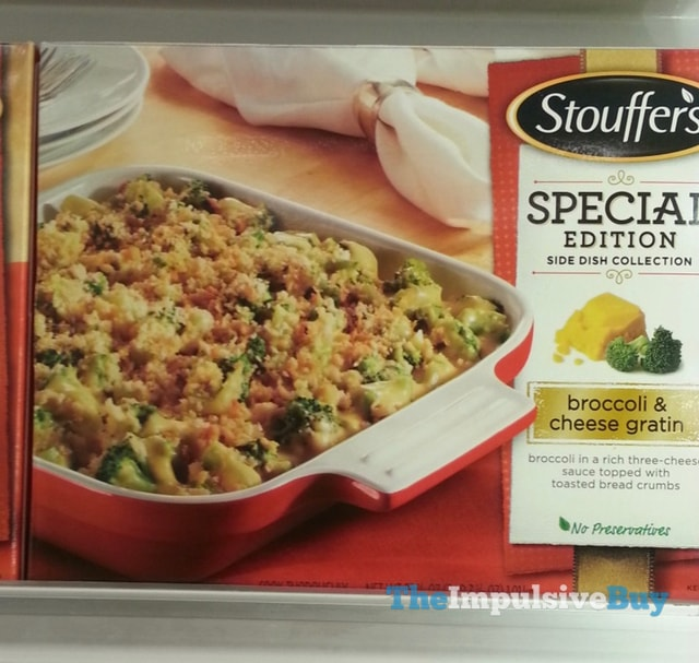 Stouffer's Special Edition Side Dish Collection Broccoli & Cheese Gratin