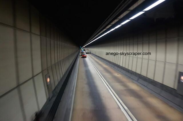 湾仔のトンネル