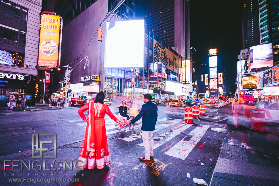 Zohra + Faisal | New York City Engagement | NYC Indian Wedding Photographer
