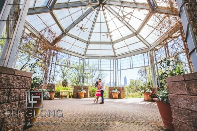 Vaishali Vijay Atlanta Botanical Gardens Piedmont Park Stone Mountain Engagement Session