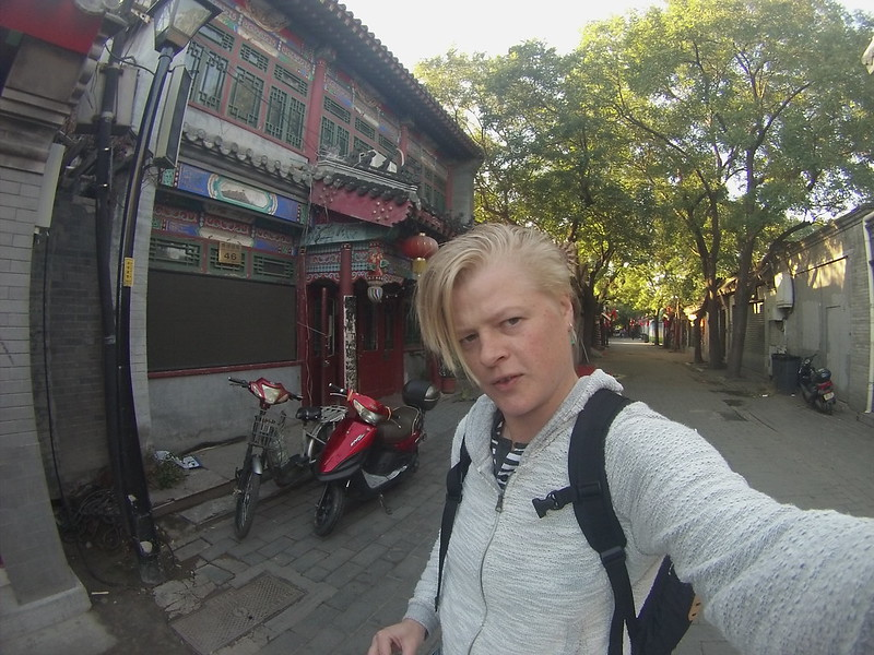 Beijing Hutong in the morning