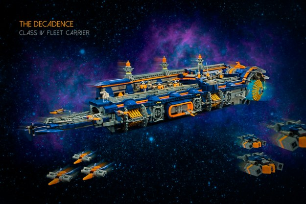 The Decadence - Class IV Fleet Carrier