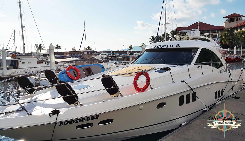 TROPIKA Leisure yacht for events or sunset cruise in Kota Kinabalu, Sabah, Chloe Tiffany Lee (2)