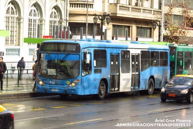 Transantiago - Inversiones Alsacia - Marcopolo Gran Viale / Volvo (FLXH59)