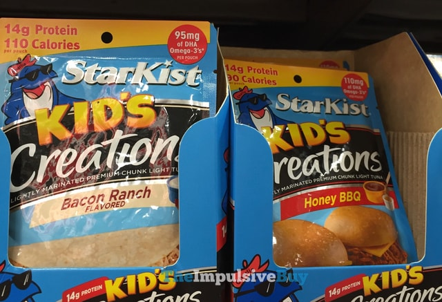StarKist Bacon Ranch and Honey BBQ Kid's Creations