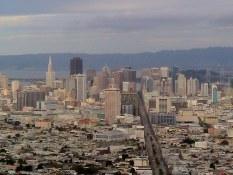 Vue de la ville de San Francisco Visite en francais de la prison d'Alcatraz lors de la visite privée de San Francisco avec www.frenchescapade.com