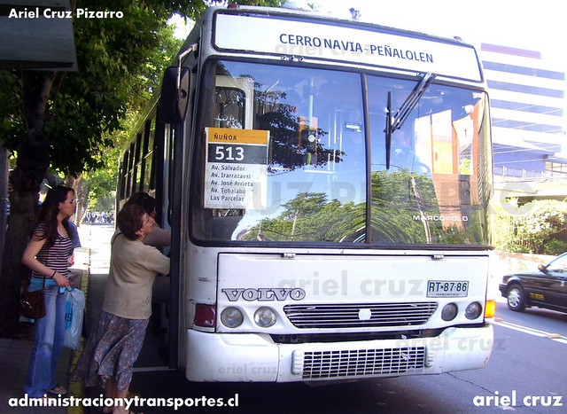 Transantiago - Buses Metropolitana / Metbus - Marcopolo Torino GV / Volvo (RT8786)