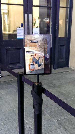 St. Pancras 9 4/3月台