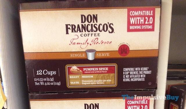 Don Francisco's Coffee Pumpkin Spice K-Cups