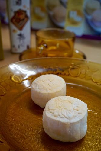 D'King Premium Vegetarian Snow Skin Musang King Durian Mooncake