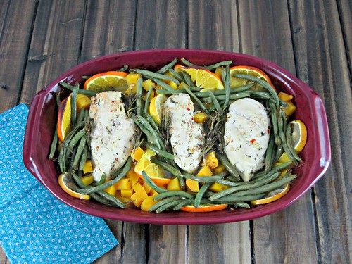 Citrus Baked Chicken & Veggies