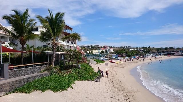 Les Roches Noire beach Reunion Island