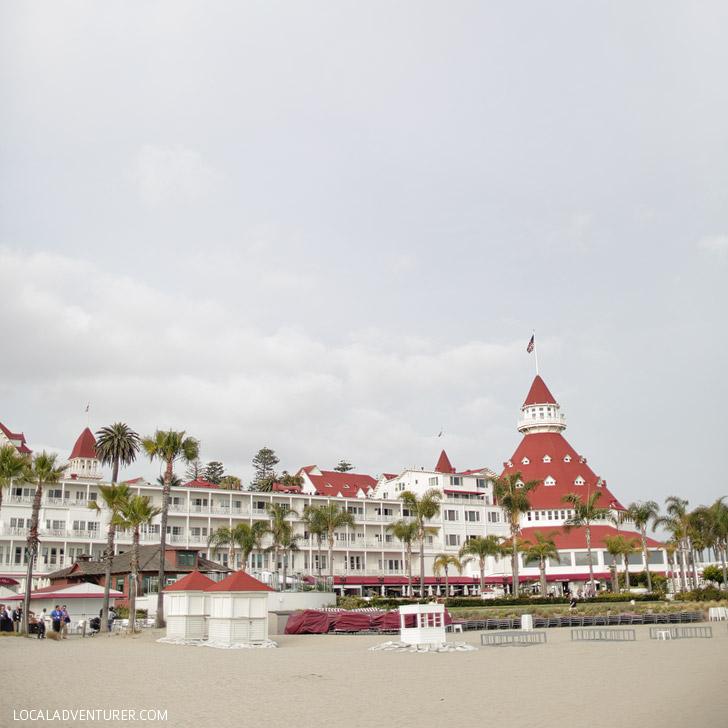 Hotel del Coronado (25 Fun Free Things to Do in San Diego).