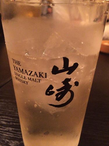 乾杯は、山崎プレミアムハイボールですよ!
