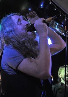 Cormac Neeson of The Answer at the Diamond Rock Club, 19 December 2015