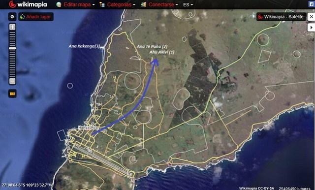 Travesía Cuevas Isla de pascua