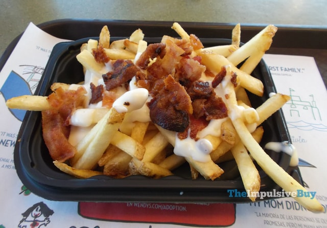Wendy's Bacon Fondue Fries