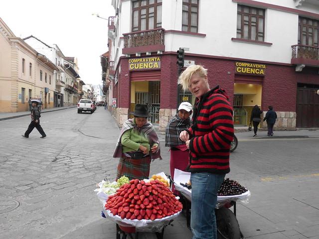 Strawberries in Cuenca