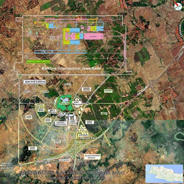 Master Plan Bandara kertajati Majalengka