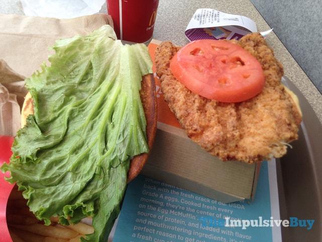 McDonald's Buttermilk Crispy Chicken Sandwich 2