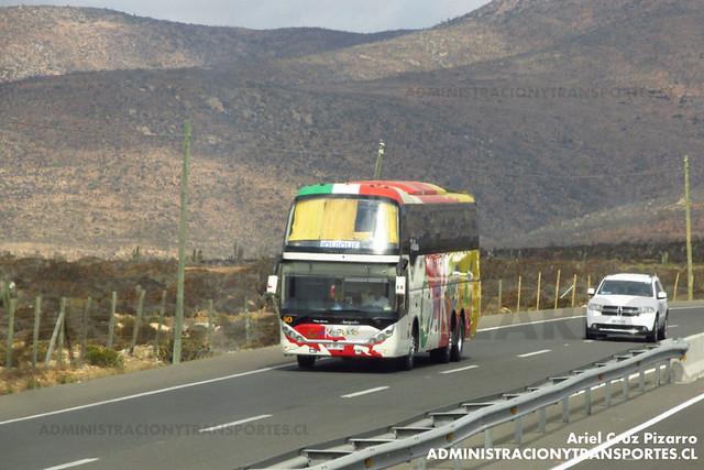 Pullman Carmelita - Norte Chico - ZhongTong Navigator (DFRP12)