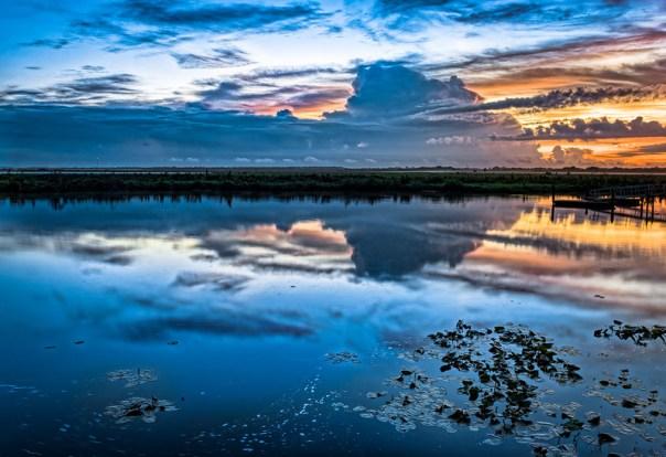 Stormy horizon
