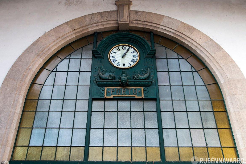 qué ver en Oporto - Estación de tren