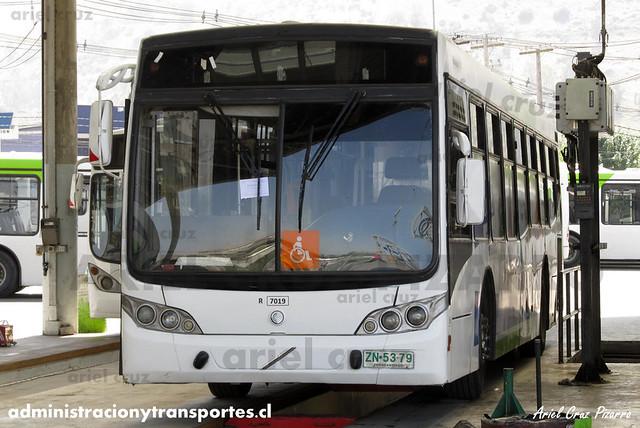 Transantiago - Subus Chile - Caio Mondego L / Volvo (ZN5379) (7019)