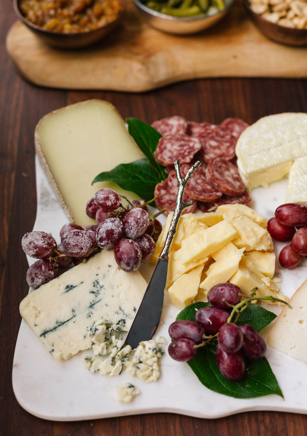 Cheese board + accompaniments #sponsored