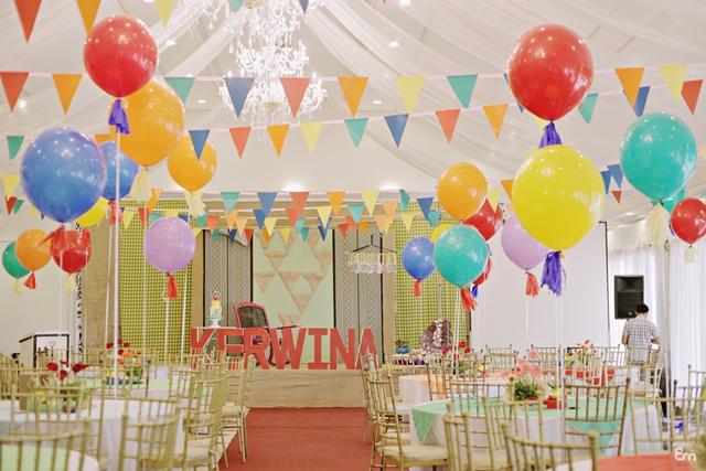 Kerwina S Pista Sa Nayon Themed Party 1st Birthday