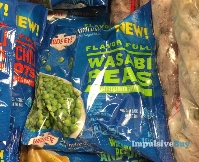 Birds Eye Steamfresh Flavor Full Wasabi Peas