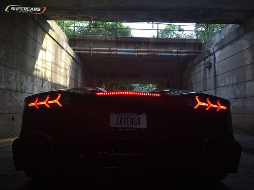 50th Anniversary Aventador & Tunnel