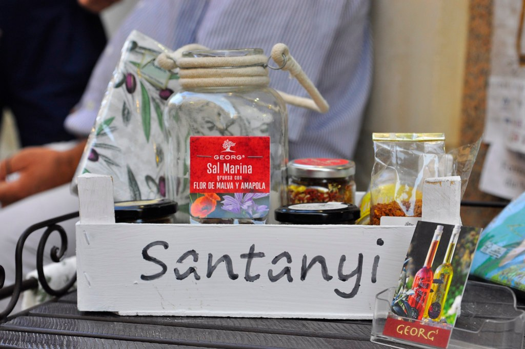 Mitbringsel Santanyi Mallorca Salz