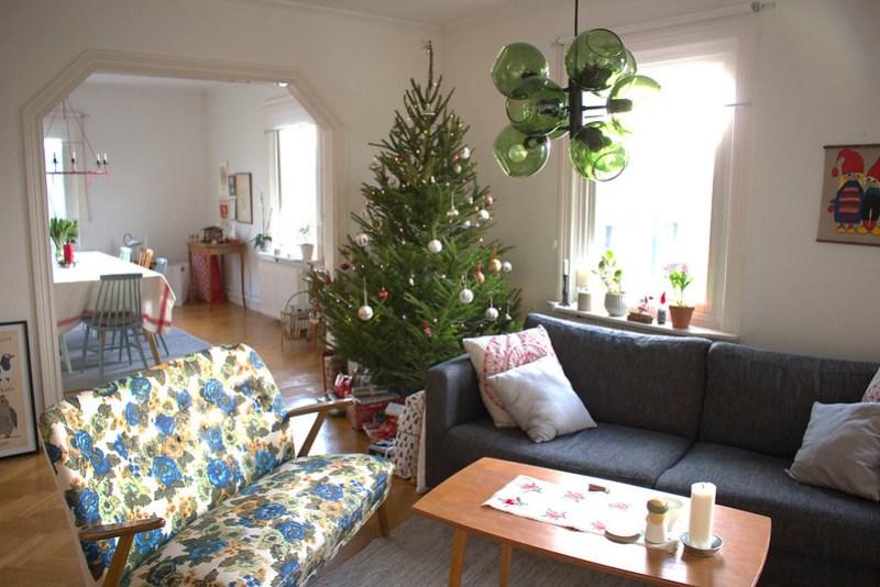 vardagsrum jul