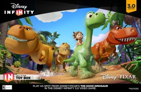 Disney Infinity 3.0 Edition   GOOD DINO Poster