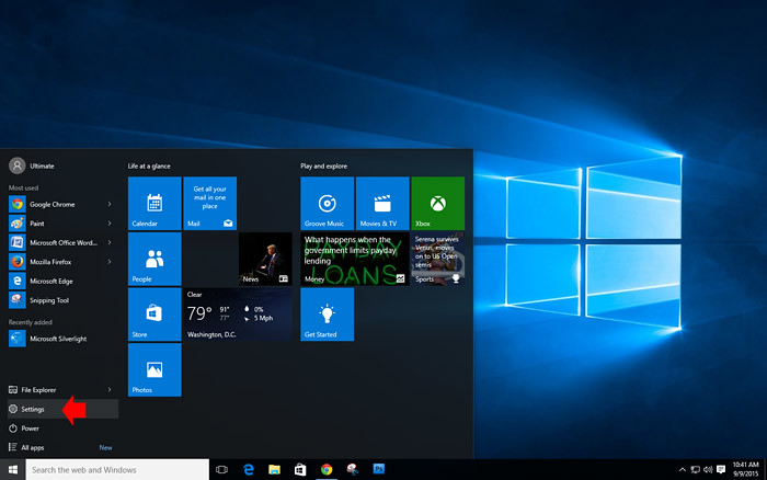 How to set default App in Windows 10-1