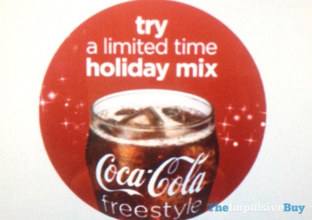 oke Freestyle Holiday Beverages