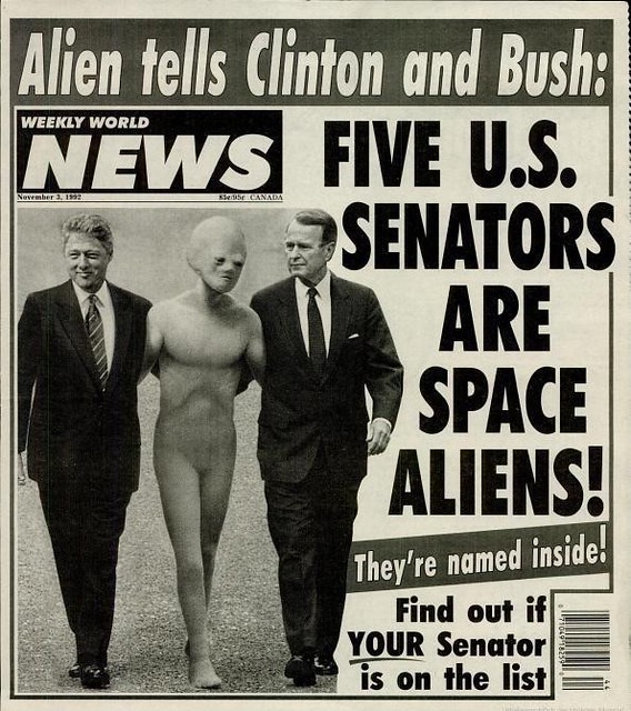 Five U S Senators Are Space Aliens