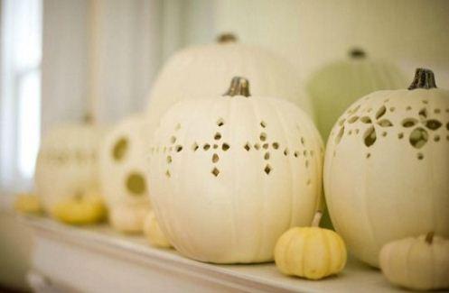 höstpyssel och halloween