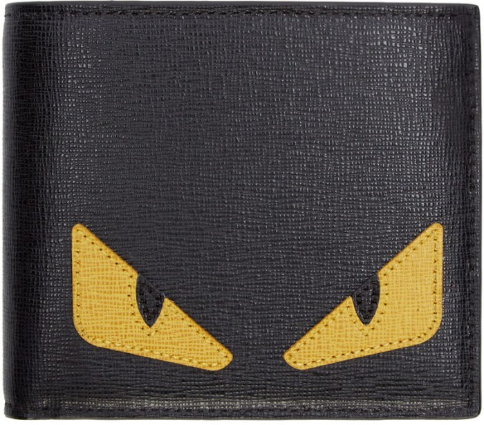 fendi monster wallet
