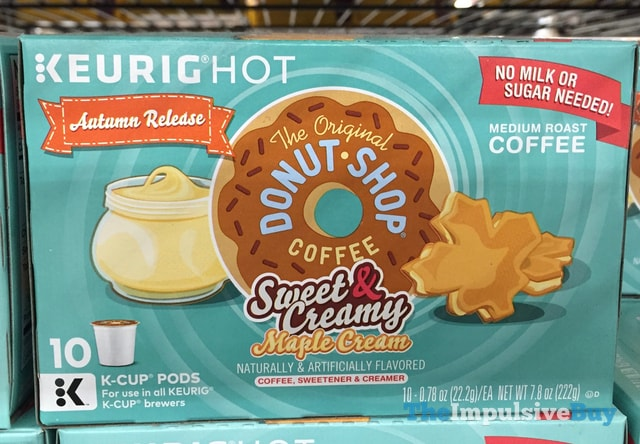 The Original Donut Shop Coffee Sweet & Creamy Maple Cream K-Cup