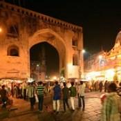 India - Telangana - Hyderabad - Streetlife At Night - 7.