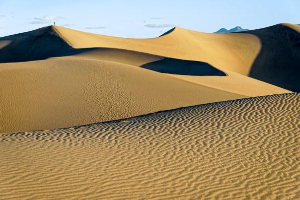 Photographing Mesquite Flat Dunes