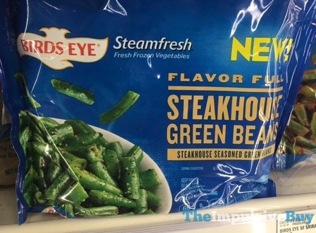 Birds Eye Steamfresh Flavor Full Steakhouse Green Beans