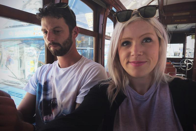 Getting the tram | Porto