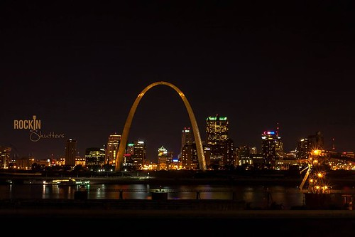 Today marked history as the 50th year anniversary of the completion of the St. Louis Arch construction. This has been my most favorite place in St. Louis since I was born and I'm sure many others feel the same. - Golden St. Louis Arch
