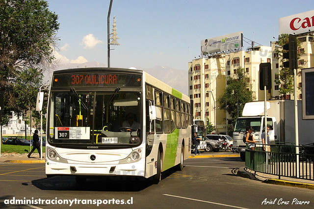 Transantiago - Buses Vule - Caio Mondego H / Mercedes Benz (BJFS40) (57)