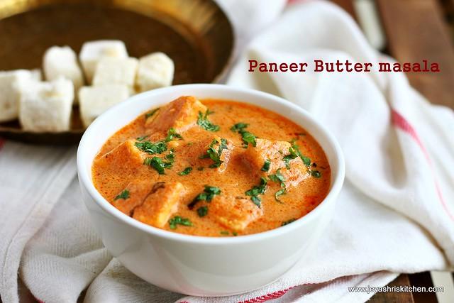 Paneer- butter masala